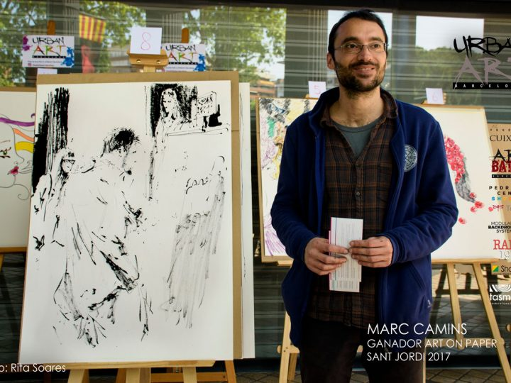 ART ON PAPER SANT JORDI 2017