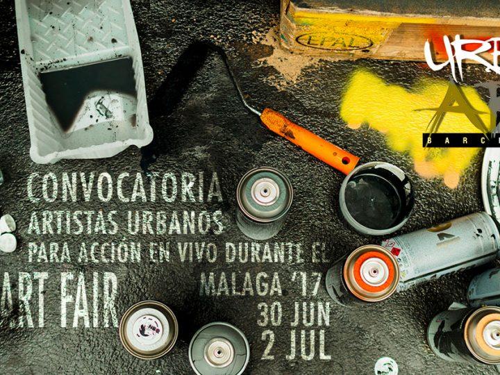 Convocamos 3 artistas para la Art Fair de Málaga'17