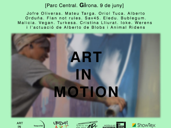 Art in Motion. Art viu i en moviment